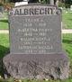 Profile photo:  Albertina <I>Meyer</I> Albrecht