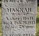 Profile photo:  Hannah <I>Hopkins</I> Bull