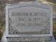 Durham B Boney