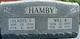 Gladys V <I>Badgett</I> Hamby