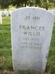 Profile photo:  Frances <I>Willis</I> Dodd