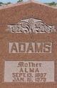 Profile photo:  Alma <I>Barnett</I> Adams