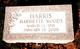 Harriette Bargar <I>Woods</I> Harris