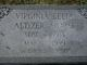 Virginia Lelia <I>Altizer</I> Adams
