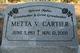 Profile photo:  Metta V. <I>Beardsworth</I> Cartier