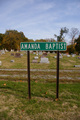 Amanda Baptist Church Cemetery