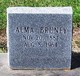Profile photo:  Alma Bruney