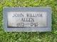 Profile photo:  John William Allen
