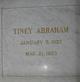 Tiney <I>Flatau</I> Abraham
