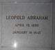 Leopold Abraham