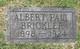 Profile photo:  Albert Paul Brickler