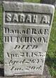 Sarah A Hutchison