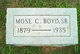 Profile photo:  Mose Clayton Boyd, Sr