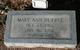 Mary Anne <I>Sprayberry</I> Dupree