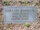 Cora Lee <I>Friar</I> Burnette