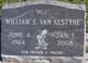 William E VanAlstyne