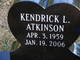 Kendrick Lee Atkinson