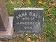 Anna <I>Daly</I> Anderson