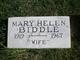 Profile photo:  Mary Helen <I>Corbett</I> Biddle