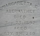 Profile photo:  Margaretta C. <I>Donley</I> Abernathey