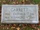 Rosamond <I>Wellburn</I> Garrett