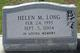Helen Malone <I>Bailey</I> Long