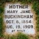 Mary Jane <I>Martin</I> Buckingham