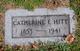 Catherine Elizabeth <I>Bailey</I> Hitt