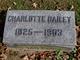Charlotte <I>Burnside</I> Bailey
