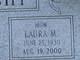 Laura M <I>Adams</I> Houseknecht