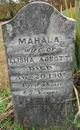 Mahala <I>Crane</I> Abbott