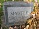 Profile photo:  Myrtle Louise Baer