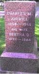 Charles M Averill