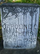 Caroline Elenor <I>Shafer</I> Mathers