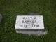 Mary Alfretta <I>Starr</I> Barker