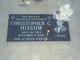 Profile photo:  Christopher c Hissom