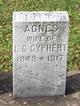 Profile photo:  Agnes <I>McDonald</I> Cyphert
