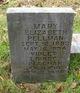Mary Elizabeth Pellman