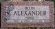Alene <I>Nease</I> Alexander