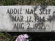 Profile photo:  Addie Mae <I>Walker</I> Self