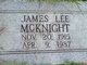 James Lee McKnight