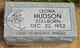 Leona Hudson