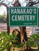 Hanakaoo Cemetery