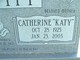 "Profile photo:  Catherine ""Katy"" <I>Phillips</I> Leavitt"