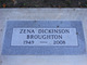 Zena Marie <I>Dickinson</I> Broughton