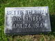 """Elizabeth """"Bettie"""" Thurman"""