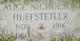 Profile photo:  Alice <I>Nicholson</I> Huffstetler