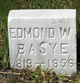 Profile photo:  Edmond Washington Basye