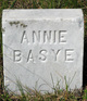 Profile photo:  Annie <I>Carryer</I> Basye