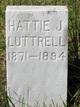 Hattie J <I>Basye</I> Luttrell